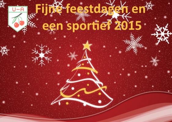 Fijne feestdagen en een sportief 2015