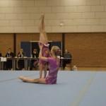Mierlose sportvereniging Uno-Animo organiseert de Zuid-Nederlandse Kampioenschappen acro gym